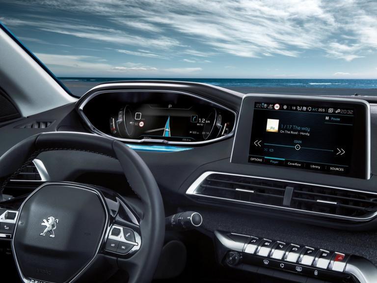 Interior Peugeot 5008