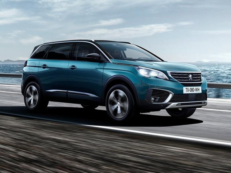 Frontal Peugeot 5008