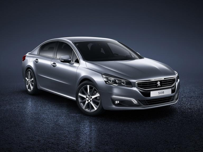 Frontal Peugeot 508 2011
