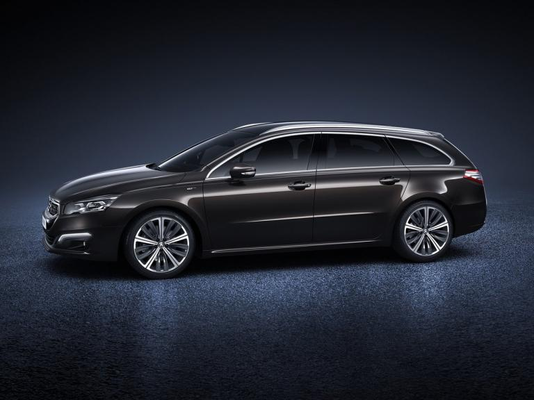 Lateral Peugeot 508 SW