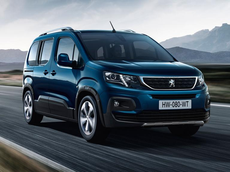 Frontal Peugeot Rifter