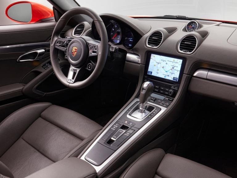 Interior Porsche 718 Boxster