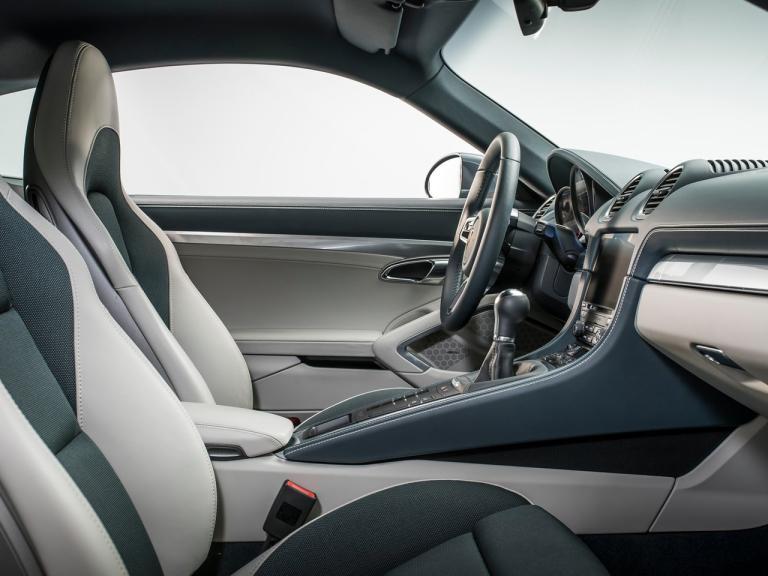 Interior Porsche 718 Cayman