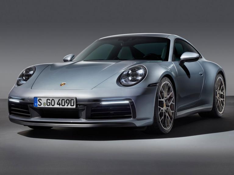 Frontal Porsche 911