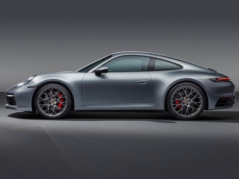 Lateral Porsche 911