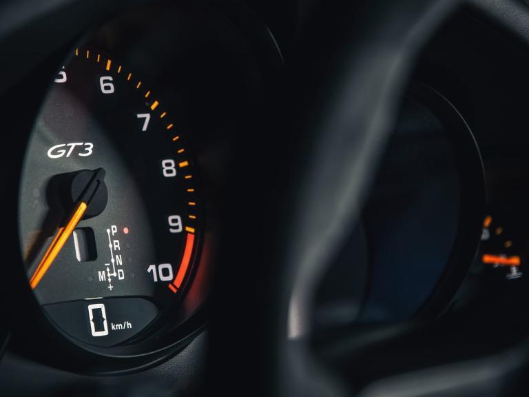 Interior Porsche 911 GT3 RS