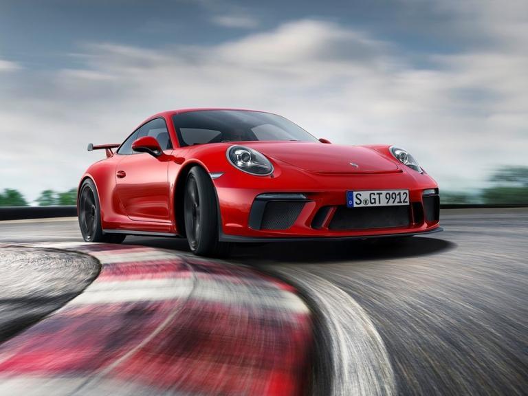 Frontal Porsche 911 GT3 RS