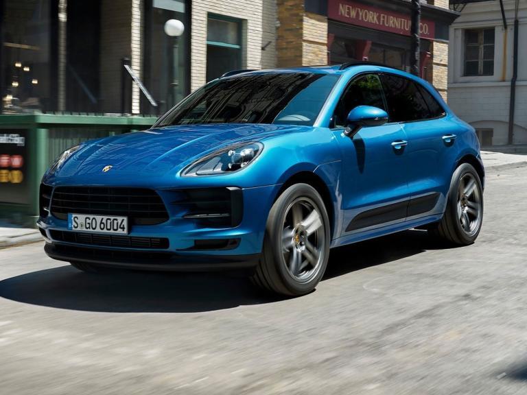 Frontal Porsche Macan