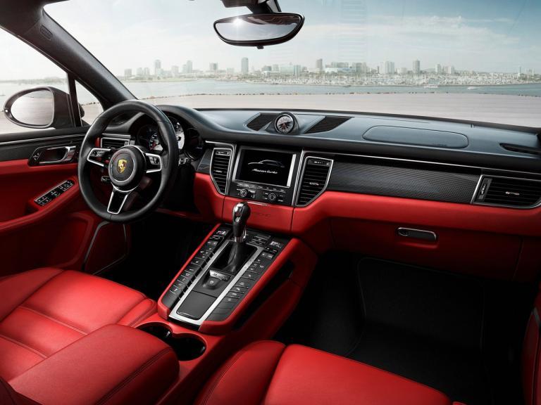 Interior Porsche Macan