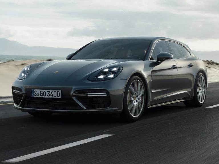 Frontal Porsche Panamera Sport Turismo