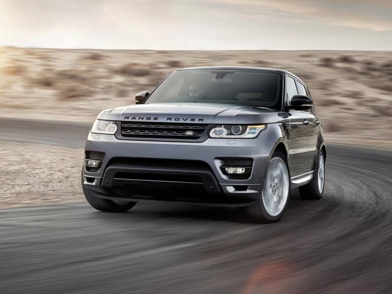 Frontal Range Rover Sport
