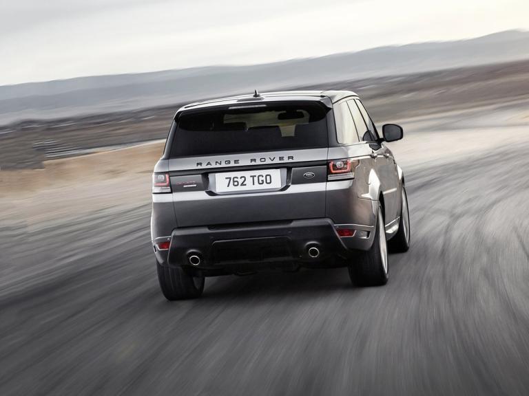 Trasera Range Rover Sport