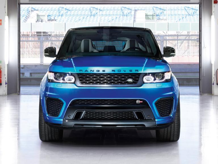 Frontal Range Rover Sport SVR