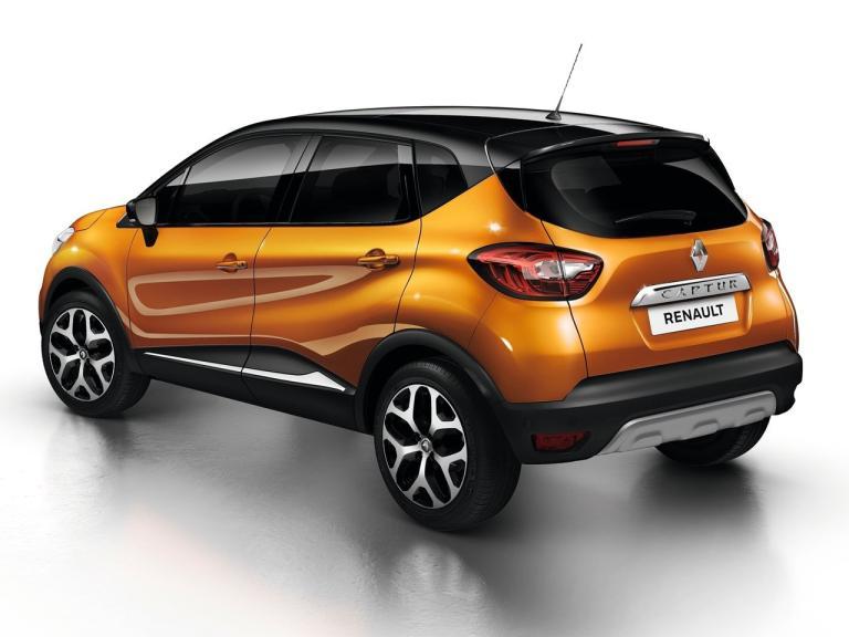 Trasera Renault Captur