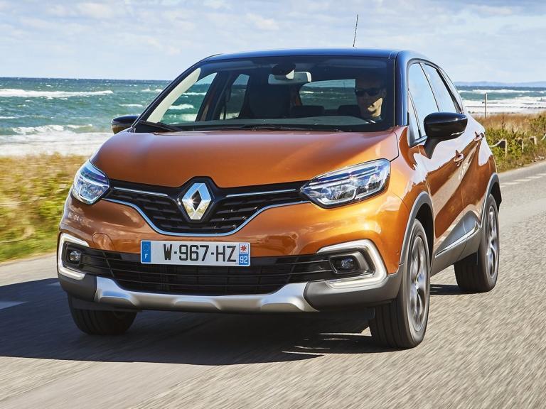 Frontal Renault Captur