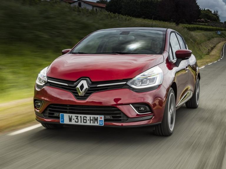 Frontal Renault Clio