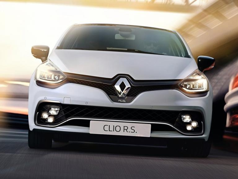 Frontal Renault Clio RS