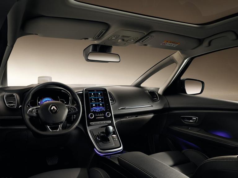 Interior Renault Grand Scenic
