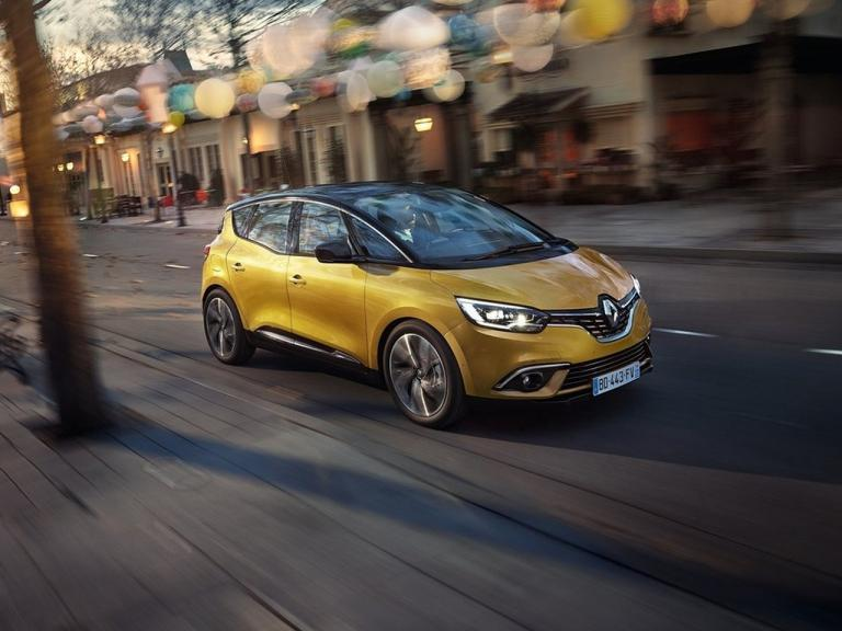 Frontal Renault Scenic