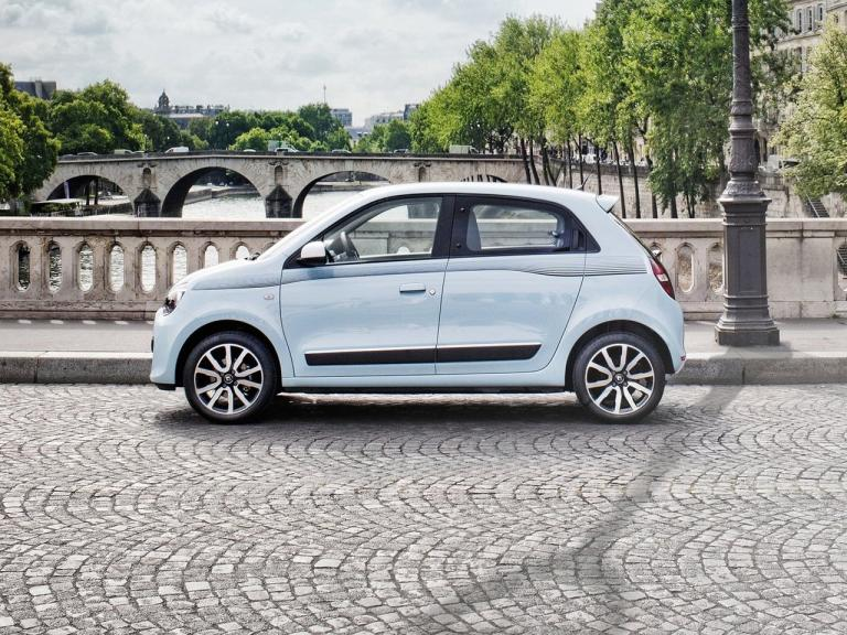 Lateral Renault Twingo