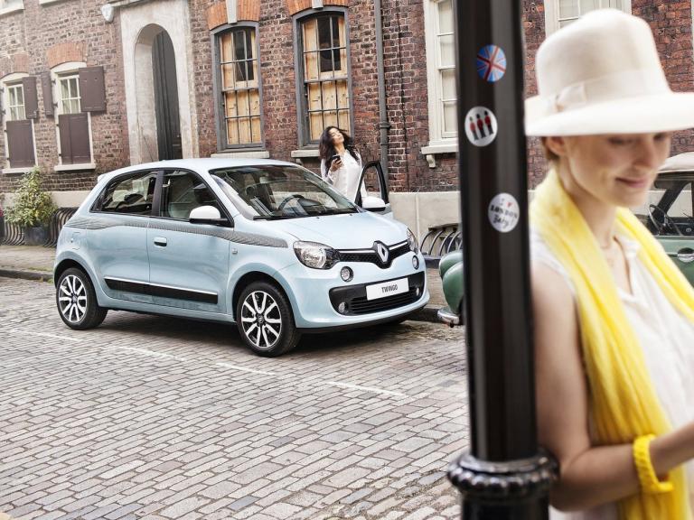 Frontal Renault Twingo