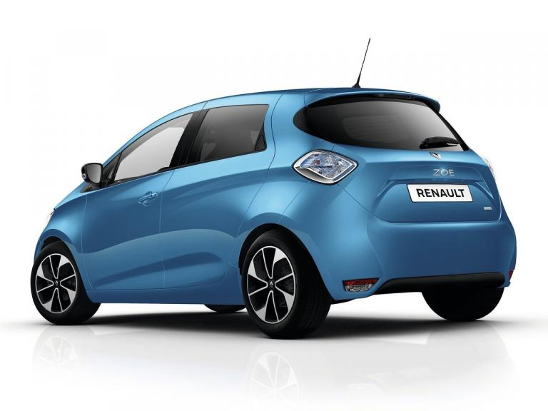 Trasera Renault Zoe