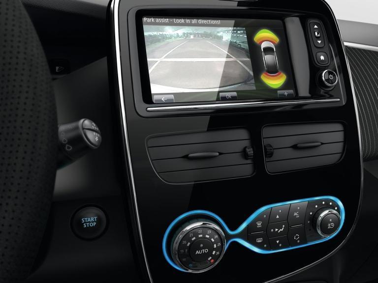 Interior Renault Zoe