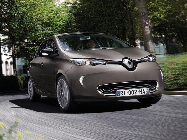 Frontal Renault Zoe