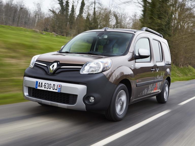Frontal Renault Kango Combi