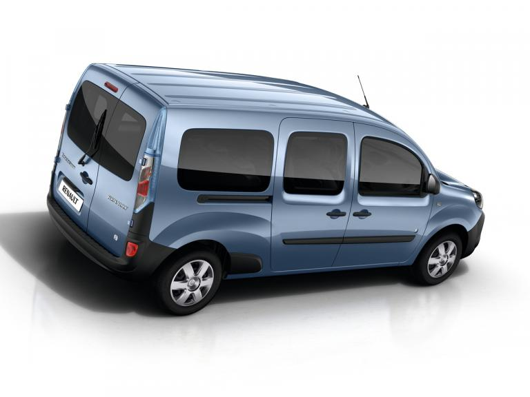 Lateral Renault Kangoo Z.E.