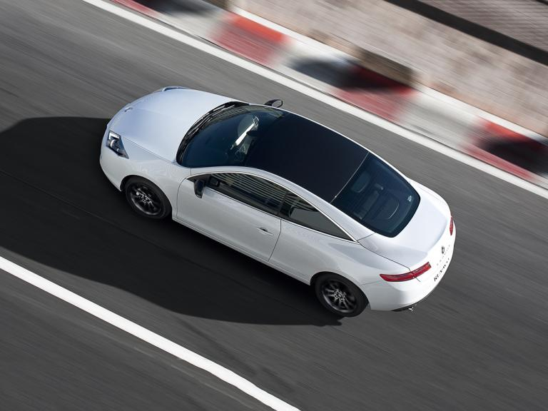Lateral Renault Laguna Coupe