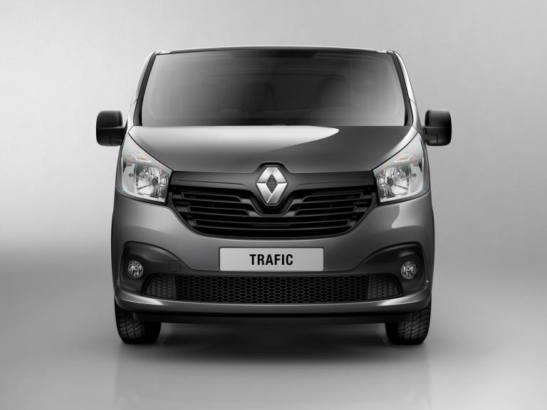 Frontal Renault Trafic