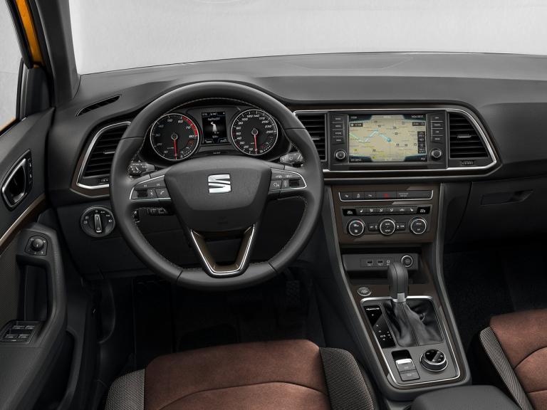 vista interior seat ateca