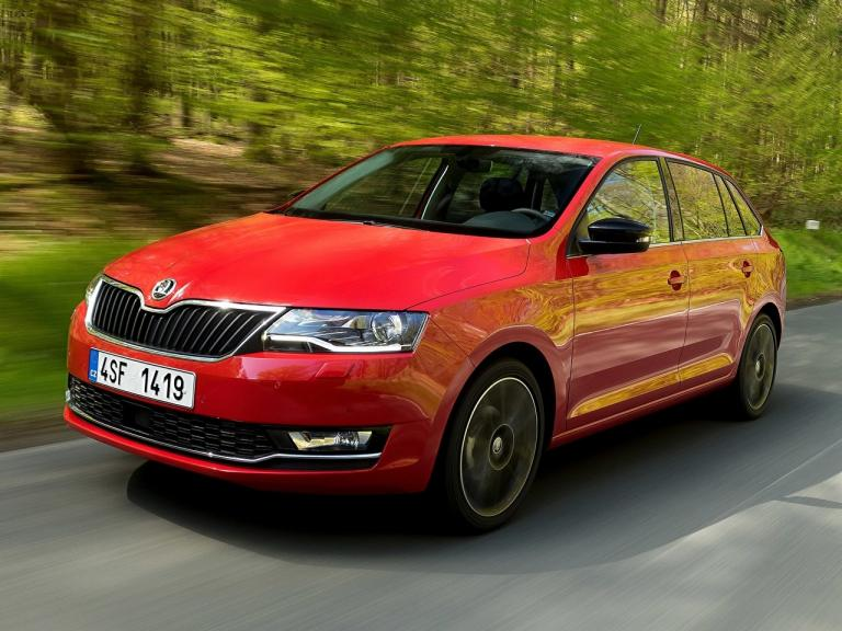 Frontal Skoda Spaceback