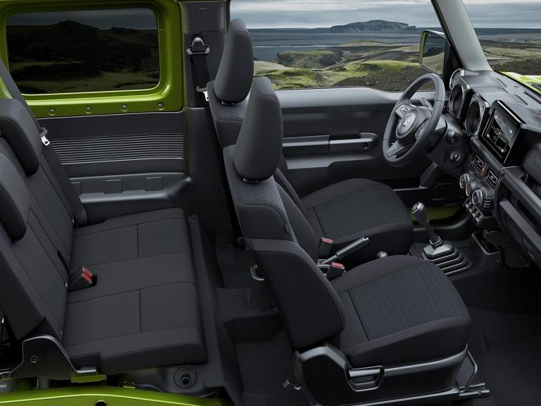Interior Suzuki Jimny