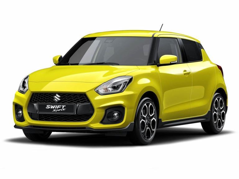 Frontal Suzuki Swift Sport