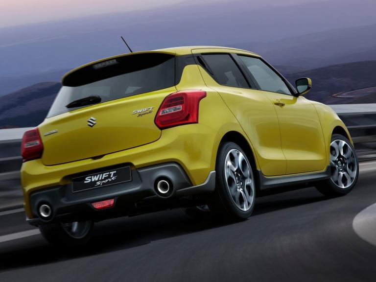 Trasera Suzuki Swift Sport