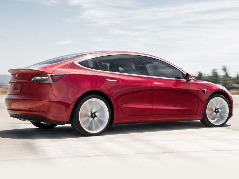 Trasera Tesla Model 3
