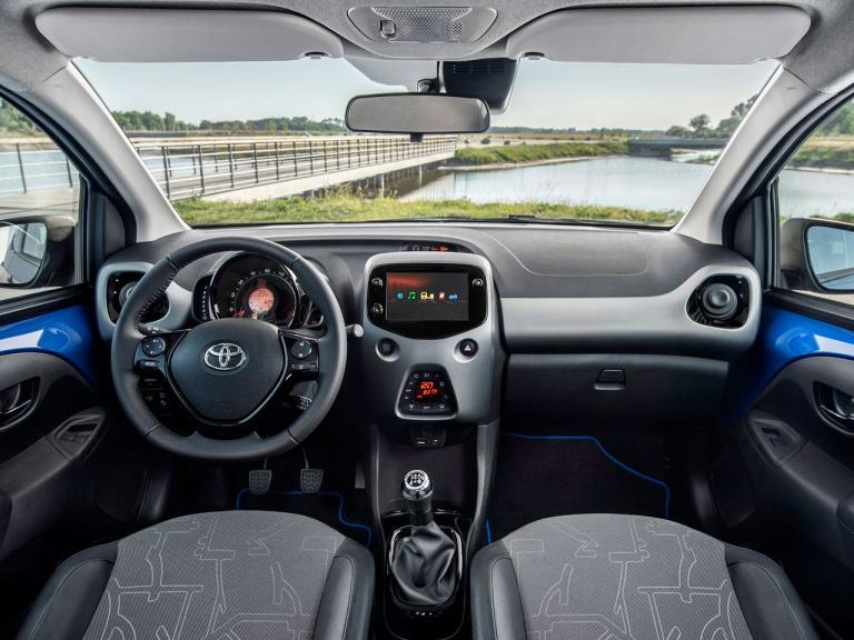 Interior Toyota Aygo