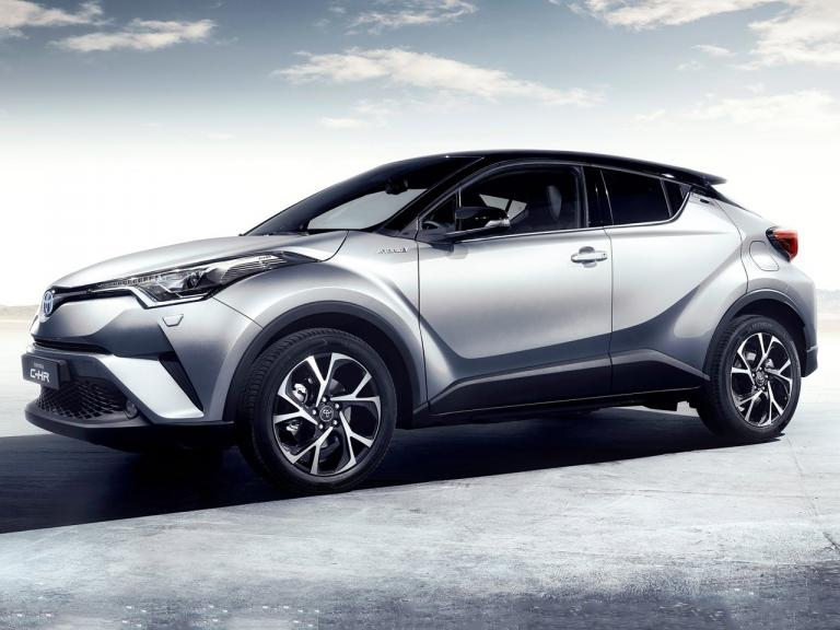 vista lateral toyota c-hr