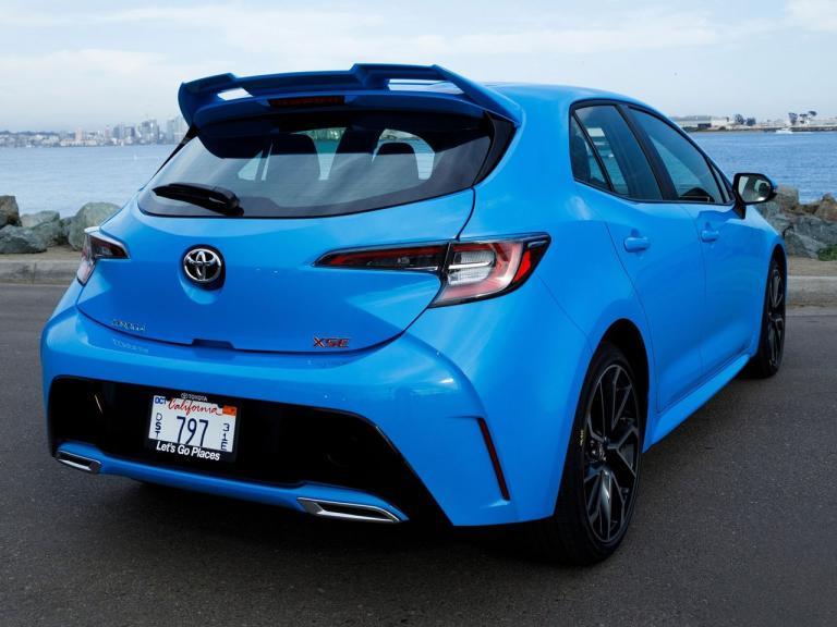 Trasera Toyota Corolla