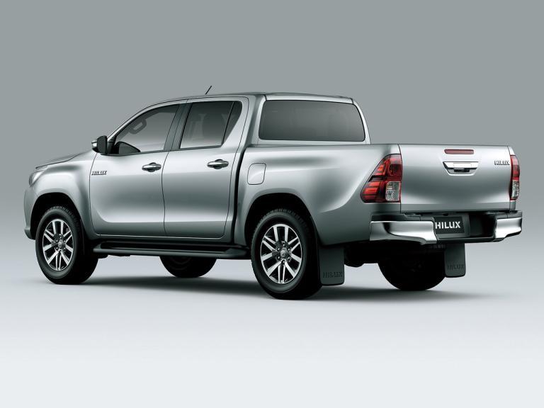 Trasera Toyota Hilux