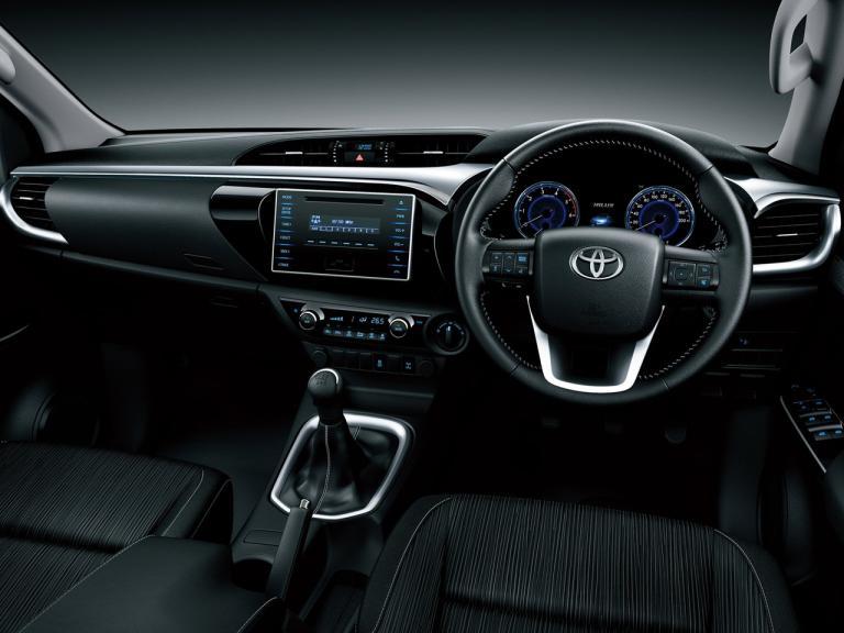 Interior Toyota Hilux