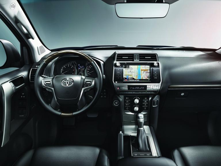 Interior Toyota Land Cruiser
