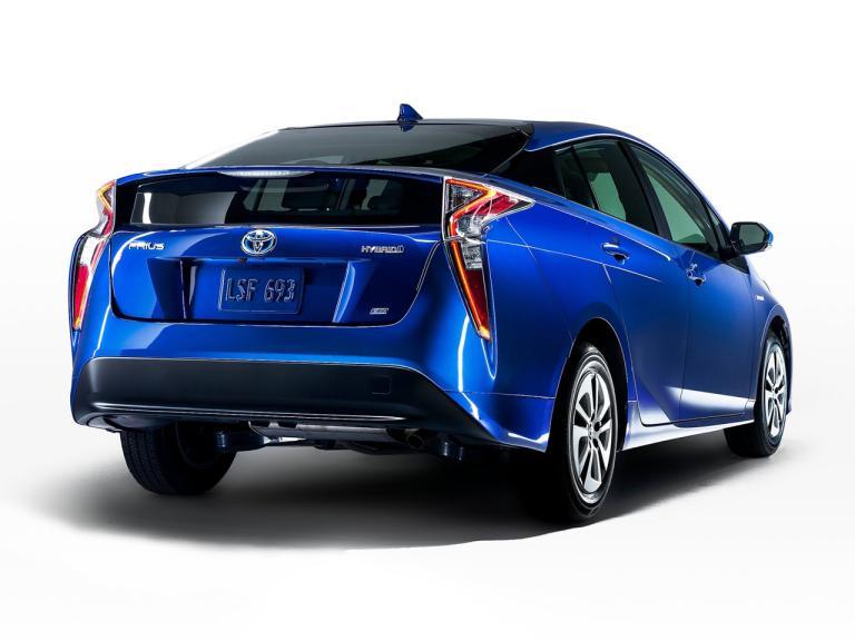 Trasera Toyota Prius