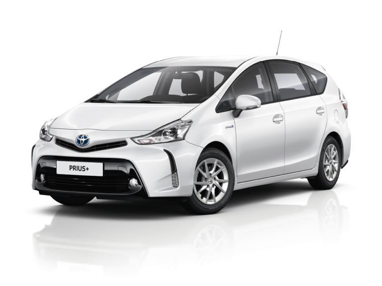 Frontal Toyota Prius+