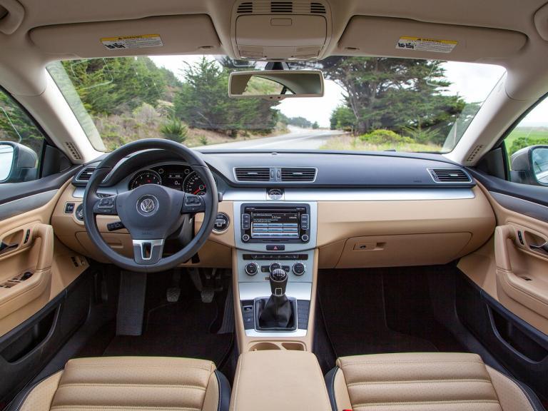Interior Volkswagen CC