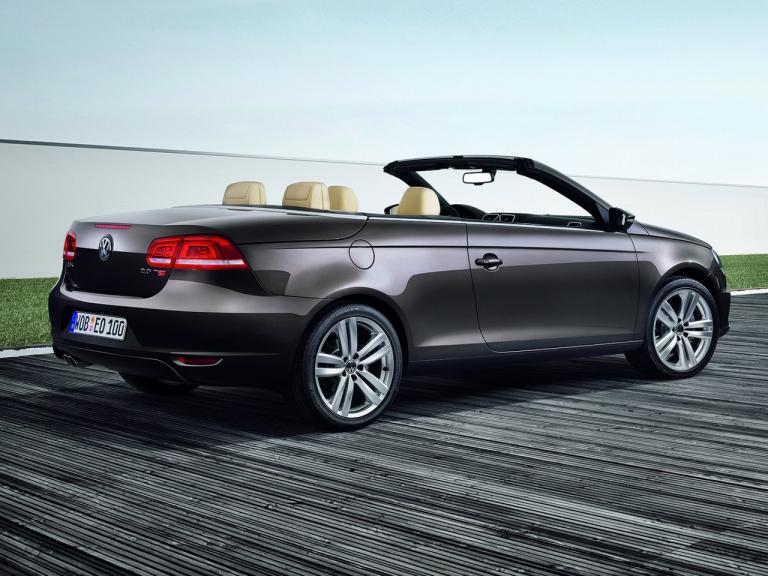 Lateral Volkswagen Eos
