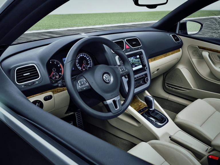 Interior Volkswagen Eos