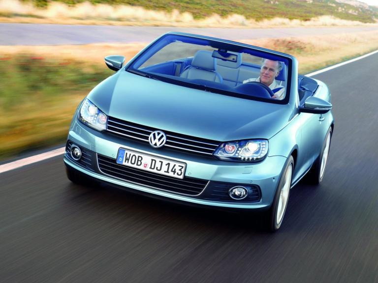 Frontal Volkswagen Eos